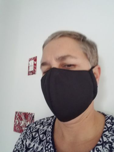 Mallory E. review of Premium Nanotech Antibacterial Face Mask