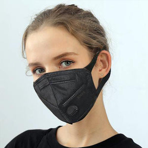 KN95 BLACK Respirator Mask Reusable, (FDA Registered) Face Mask     (As Low As $8.99 /Mask )