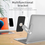 Smart Dual Monitor Productivity Multifunctional Extension Bracket - Aluminum Alloy