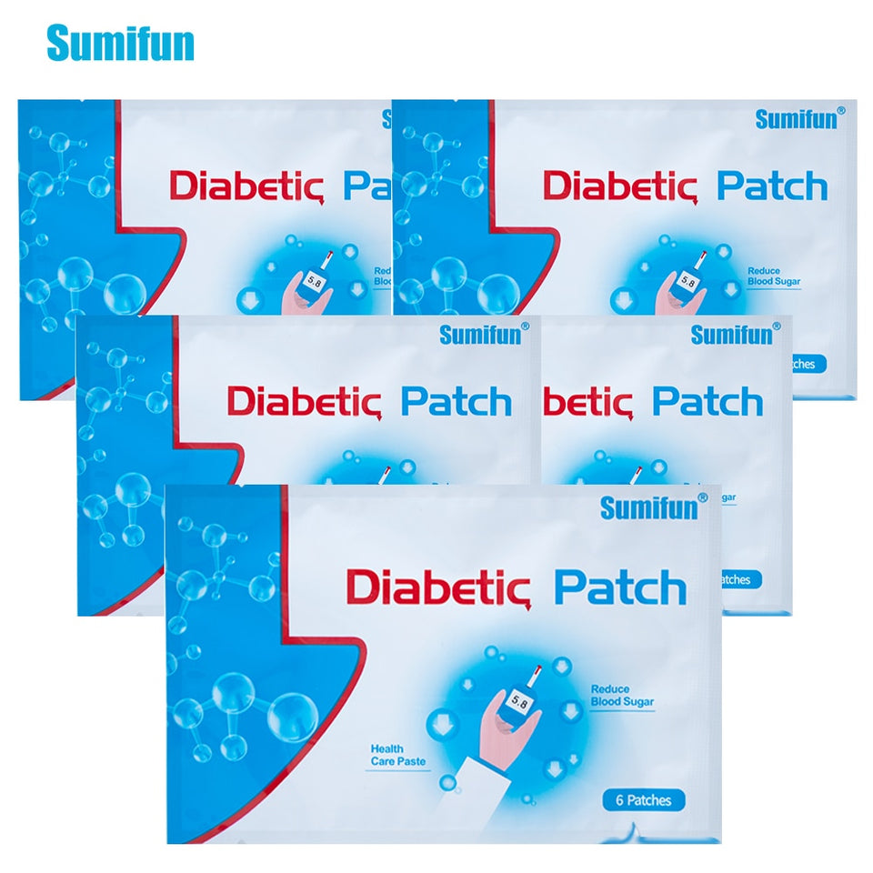 Diabetic Patch Treatment (6 patches per pack)