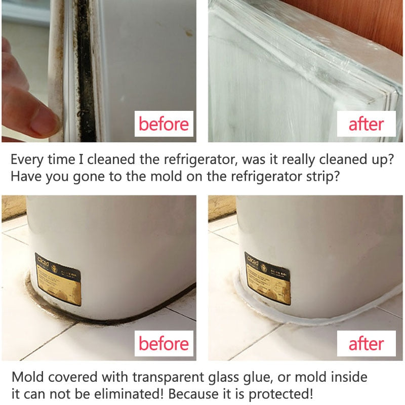 MIRACLE MOLD REMOVER GEL