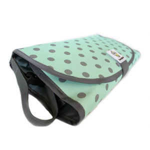 Soft waterproof Foldable Changing Pad and Diaper Bag