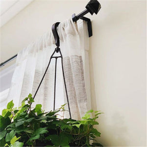 Double Center Support Curtain Rod Bracket
