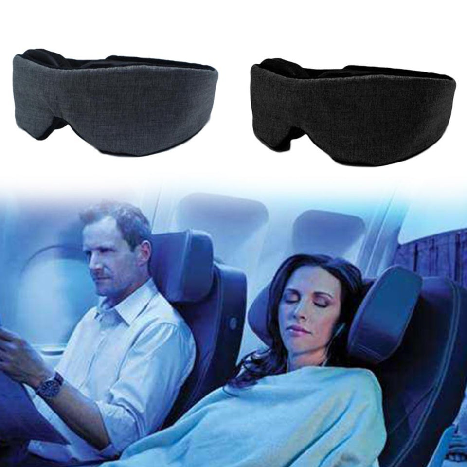 Sleep Mask With Breathable Memory Foam