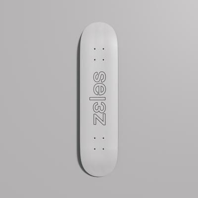 Cable Deck - White Edition - 8""