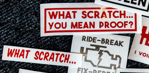 What Scratch... - STICKER