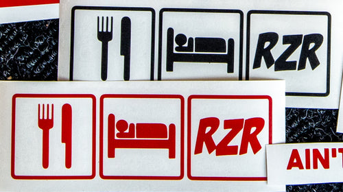 Eat, Sleep, RZR - STICKER