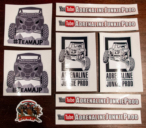 Deluxe #TeamAJP Sticker Pack