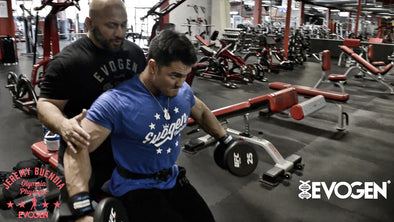 Jeremy Buendia Trains Shoulders 16 Weeks Out