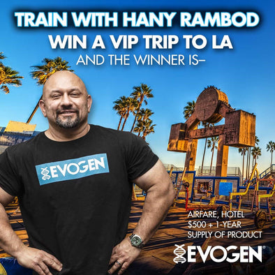 Evogen Announces the 2019 VIP Contest Winner