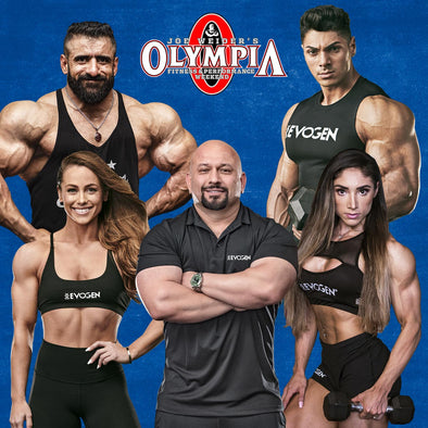 Team Evogen Elite at the 2019 Olympia Weekend