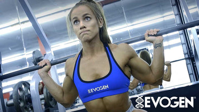 Evogen's Lauren Findley Trains FST-7 Legs for Maximum Gains!