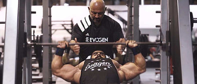 Train with The Pro Creator: Hadi Choopan Pounds FST-7 Chest in Dubai, Part 2