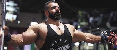 Train with The Pro Creator: Hadi Choopan Hits FST-7 Triceps in Dubai