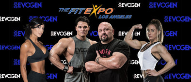 EVOGEN NUTRITION AT THE 2017 LA FIT EXPO
