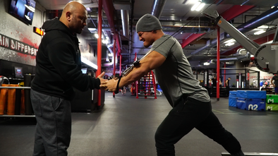 Trashing Chest With Hany Rambod And Jeremy Buendia