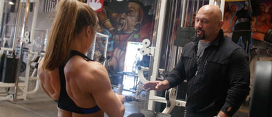 Hany Rambod Blasts FST-7 Back with Lauren and Daniela at Metroflex Long Beach