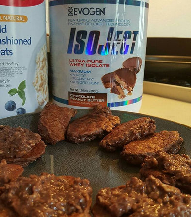 IsoJect-Oatmeal Chocolate Pudding Cakes