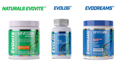 COMING SOON! Introducing three new products: Evovite Powder, Evolog & Evodreams