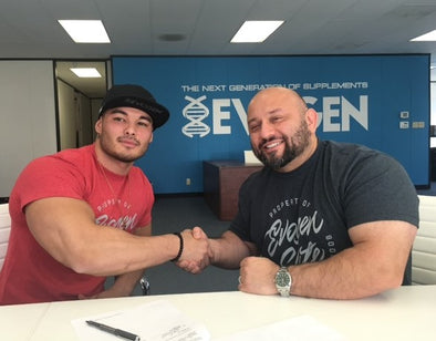 EVOGEN NUTRITION ANNOUNCES 2017 CONTRACT EXTENSION OF 3X OLYMPIA PHYSIQUE CHAMPION JEREMY BUENDIA