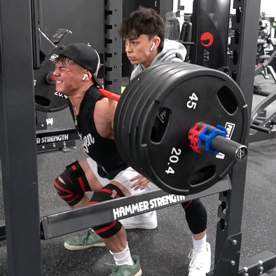 A Day In The Life with Devin Bernardo Training Legs
