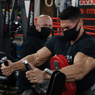 Andrei and Hany Smash FST-7 Back 3 Weeks Out From the 2020 Olympia