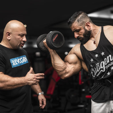 Train with The Pro Creator: Back & Biceps with Hadi Choopan One Week Out
