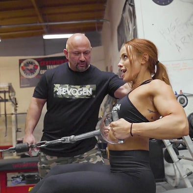 Train with The Pro Creator: Lauren Findley Supersets FST-7 Back and Biceps