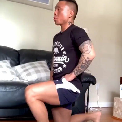Team Evogen Home Based Workout with James Jiang