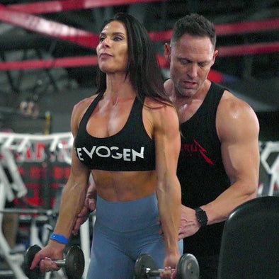 Living The Lifestyle: Evogen's IFBB Pro Camile Periat Preps for the Bikini Olympia
