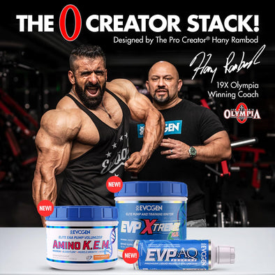 Evogen Announces The Launch of Three New Products at the 2019 Olympia Weekend