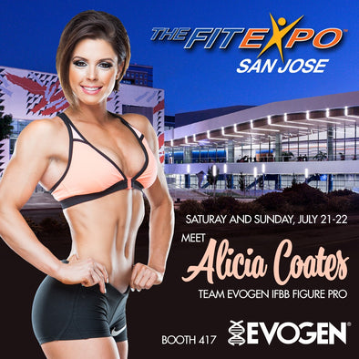 EVOGEN NUTRITION GEARS UP FOR THEFITEXPO FUN IN SAN JOSE, CA