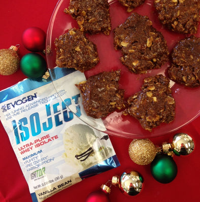 IsoJect Gingerbread Protein Bites