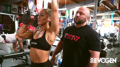 Hany Blasts Boulders With Lauren Findley