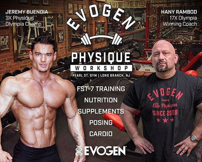 The 2017 Evogen Physique Workshop Series is Coming Soon