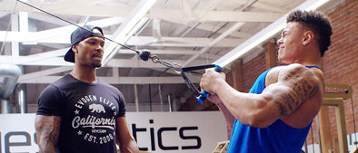 Train with Tory Woodward: Off-Season Gainster Damen Evans