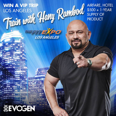 "Win a VIP Trip to Train With Hany ""The Pro Creator"" Rambod  at the 2019 Los Angeles Fit Expo!"