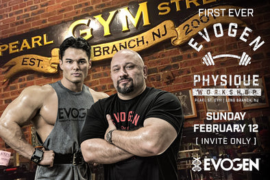 The 1st Ever Evogen Physiques Workshop Gallery: Pearl Street Gym