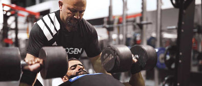Train with The Pro Creator: Hadi Choopan Pounds FST-7 Chest in Dubai, Part 1