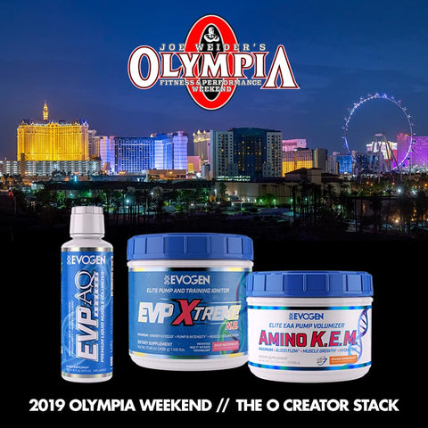 2019 Olympia Weekend // The O Creator Stack