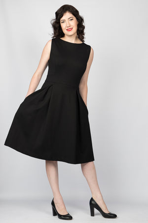 Fit for a Queen Fit 'n Flare Dress with pockets