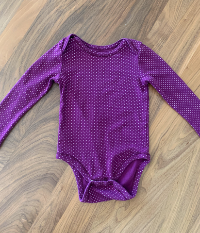 Baby onesie for craft project