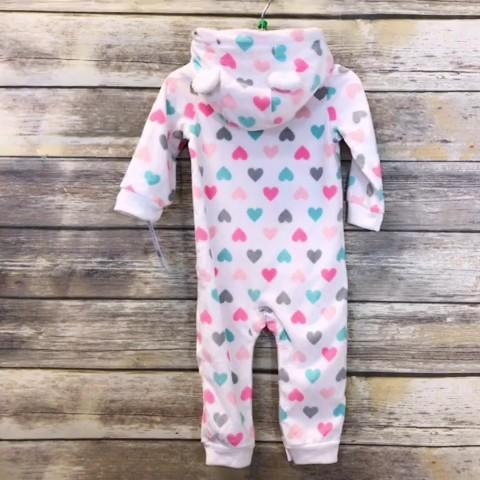 Carters Girls Coverall Baby: 12-18m