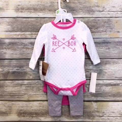 Reebok Girls Set Baby: 00-06m