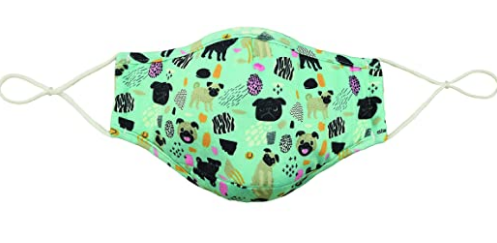 Snoozies Adult Mask/Face Covering Dogs Size Adult