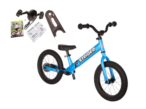 strider balance pedal bike for toddlers children