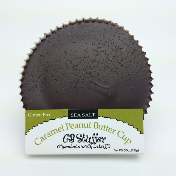 Sea Salt Caramel Dark Chocolate Peanut Butter Cup