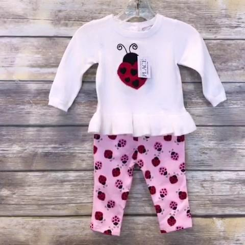 Children's Place Girls Set Baby: 00-06m