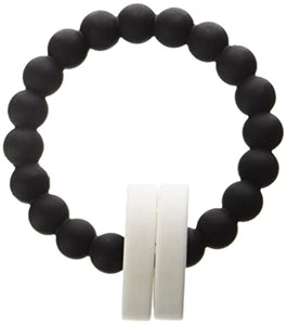 Chewbeads Mulberry Teether Black White
