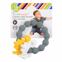 Chewbeads Go Central Park Teether Dinosaur - Childish Things Consignment Boutique